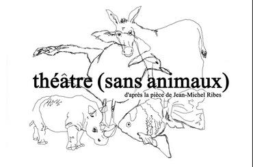 BD théâtre sans animaux (dessins + titre)