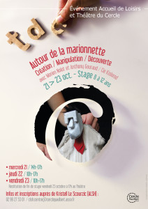 Affiche stage marionnettes Morien
